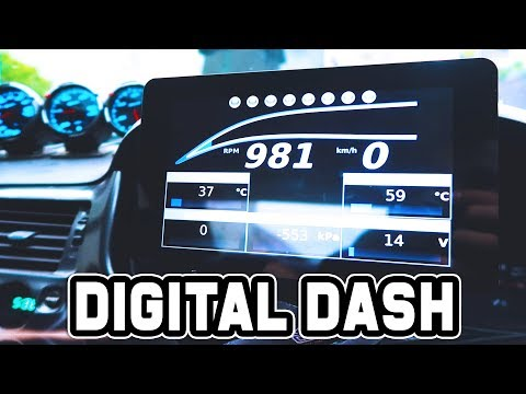 POWER TUNE DIGITAL DASH INSTALL