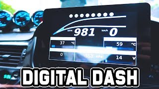 POWER TUNE DIGITAL DASH INSTALL