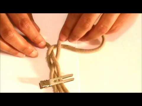 DIY: Shoe String Bracelet   Recycle Your Shoe Laces
