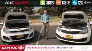 2015 Kia Rio Hatchback VS. Sedan Capitol Kia San Jose, CA