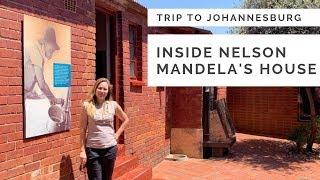 JOHANNESBURG - TRIP to NELSON MANDELA'S HOUSE in SOWETO - 2019 vlog