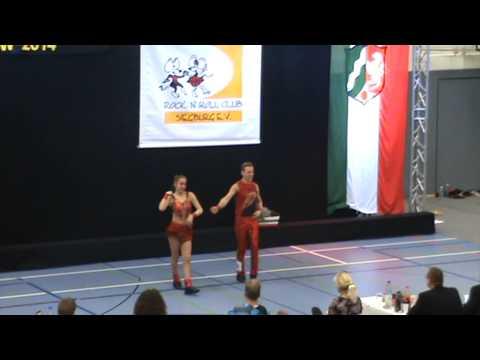 Ben Stassen & Bianca Jacobs, final acro, Landesmeisterschaft Siegburg 08.11.2014