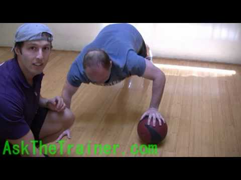 Medicine Ball Chest Push-ups San Francisco Personal Training