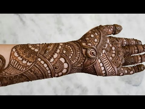 Indian Bridal Henna Designs Eid Special Henna Design For Hands