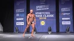 FC 2016 - Bodybuilding Masters 40 alle 90 kg - Teemu Koskinen