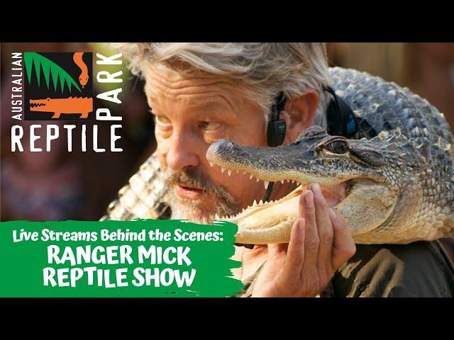 LIVE: RANGER MICK REPTILE SHOW | AUSTRALIAN REPTILE PARK