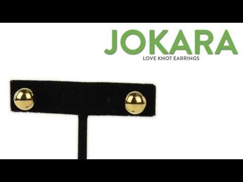 Jokara Love Knot Earrings