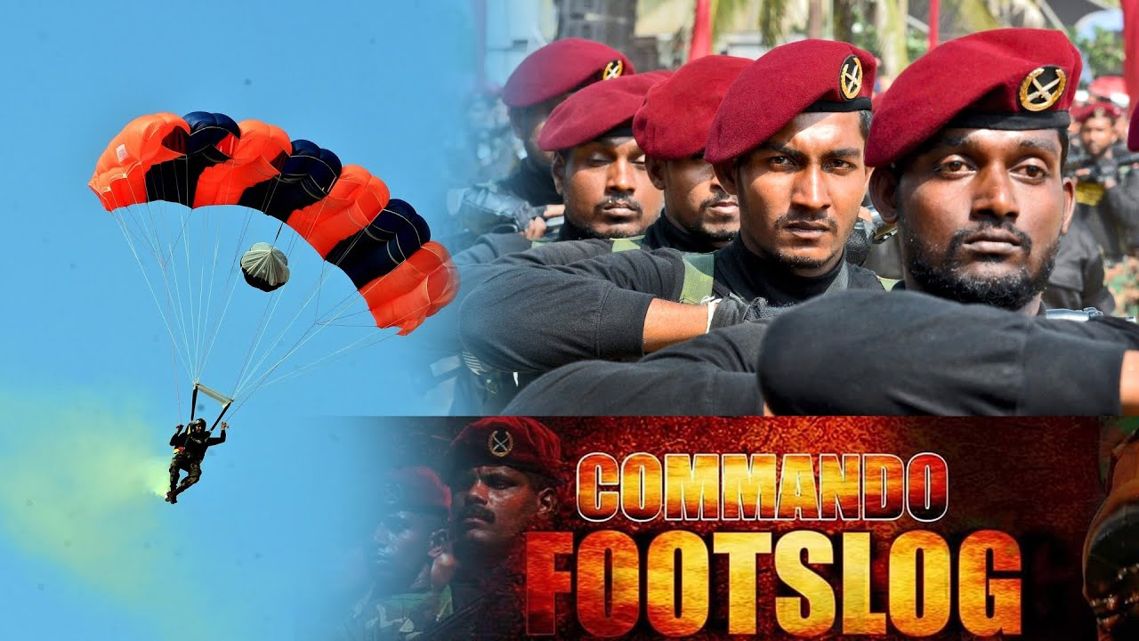 Sri Lanka Army Commando Regiment 40th Anniversary of 'Commando Footslog 2020'