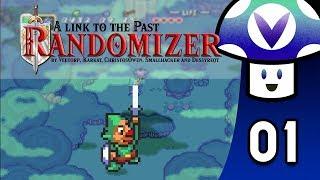[Vinesauce] Vinny - Zelda: A Link to the Past - Randomizer (Pedestal Run) (part 1)