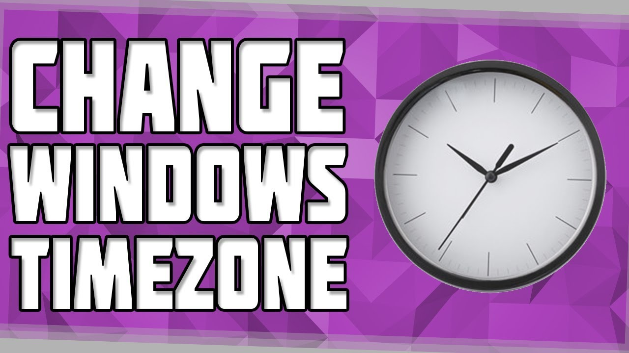 How to Change your Timezone in Windows! Windows 10 Timezone Settings!