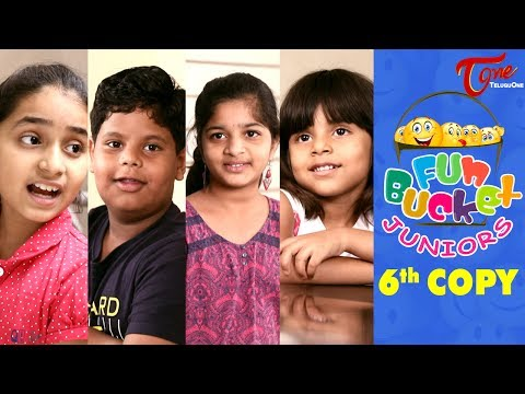 Fun Bucket JUNIORS | Kids Jokes | Episode 6 | Kids Funny Videos | Comedy Web Series