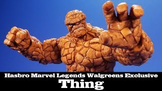 Marvel Legends Thing Fantastic Four Walgreens Exclusive Hasbro Review