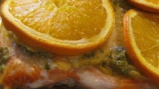 Orange Trout Recipe
