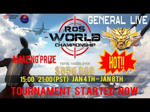 Rules Of Survival the World Championship : Group Stage Started!
