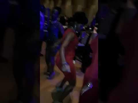 Dancing the night away at the Uganda Dinner Gala