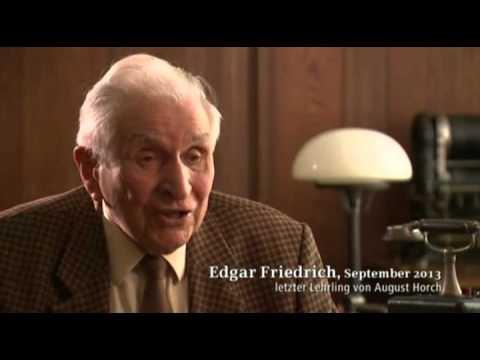 Edgar Friedrich im August-Horch-Museum, Zwickau