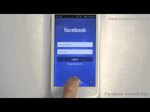 Facebook Android App - How To Sign Up