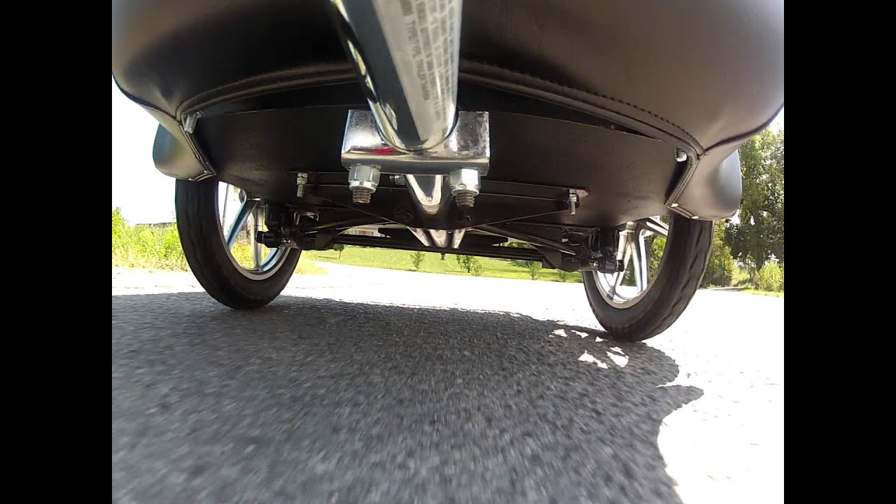 Bushtec Motorcycle Trailer Suspension Demonstration Youtube