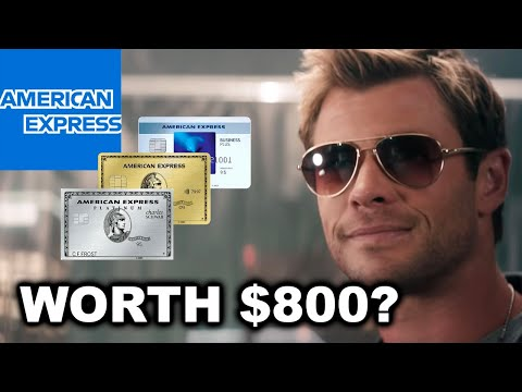 The AmEx Trifecta - Is It Worth $800?
