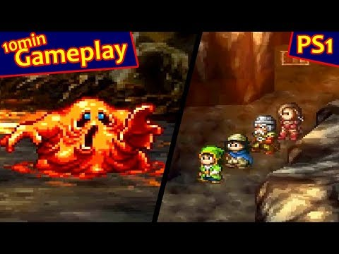 Dragon Warrior VII ... (PS1) 60fps