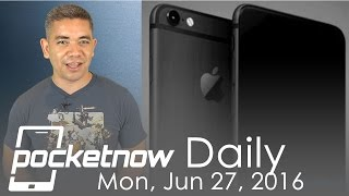 iPhone 7 in space black, Galaxy Note 7 fingerprint scanner & more - Pocketnow Daily