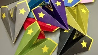 Free Origami Airplane Paper - Print Your Own! - Paper Airplanes