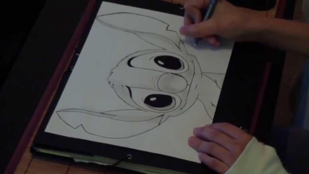 Drawing 2 Stitch Youtube