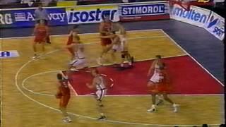 Баскетбол  Чемпионат Европы 1997   Россия   Испания