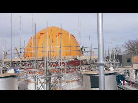 Latest Footage Of Our Iconic Build! Cambridge Mosque Progress March 2018