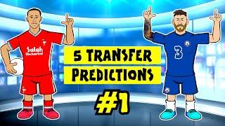 🤝🏼#1 - TRANSFERS!🤝🏼 Thiago to Liverpool! Messi to Chelsea!