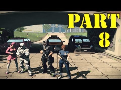 The FGN Crew Plays: APB Reloaded Part 8 - The VIP Lockdown (PC)