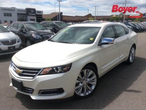 2014 Chevrolet Impala LTZ Demo at Boyer Pickering | 140469 - YouTube