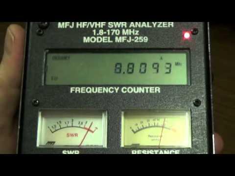 Basics of Using an MFJ Antenna Analyzer by W5LA