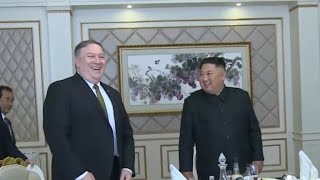 Pompeo discusses 2nd U.S.-North Korea summit during meeting with Kim Jong Un