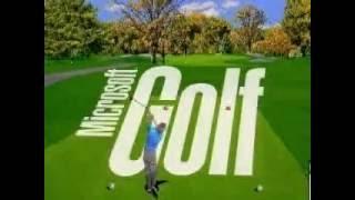 Microsoft Golf 3.0 Advertisement