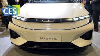 CES 2019 - Byton: M-Byte und das neue Cockpit