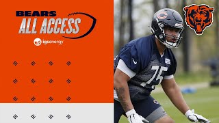 Larry Borom excited to practice against Bears defense | All Access Podcast | Chicago Bears