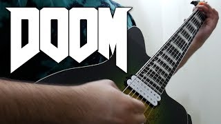 DOOM (2016) Guitar Riff Compilation (8 String Guitar - Mick Gordon Cover)