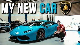 My New Car - Lamborghini Huracan