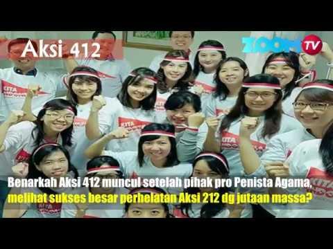 """AKSI 212 vs AKSI 412  """"GELENG-GELENG KEPALA"""""""