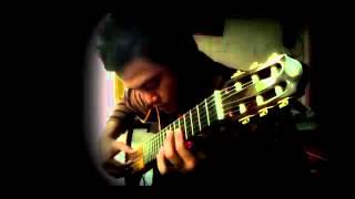 【Dangdut】 Ria Amelia - SMS (Classical Fingerstyle Guitar Koplo cover)