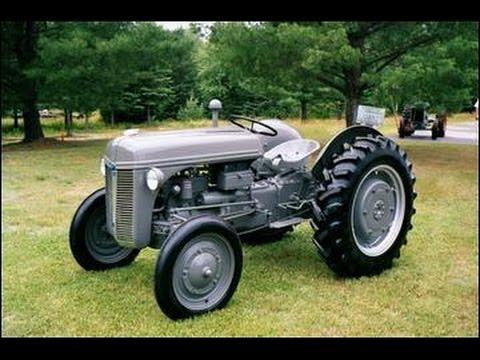 Vintage Tractor Parts Fuel Filter Ferguson Te20 Youtube