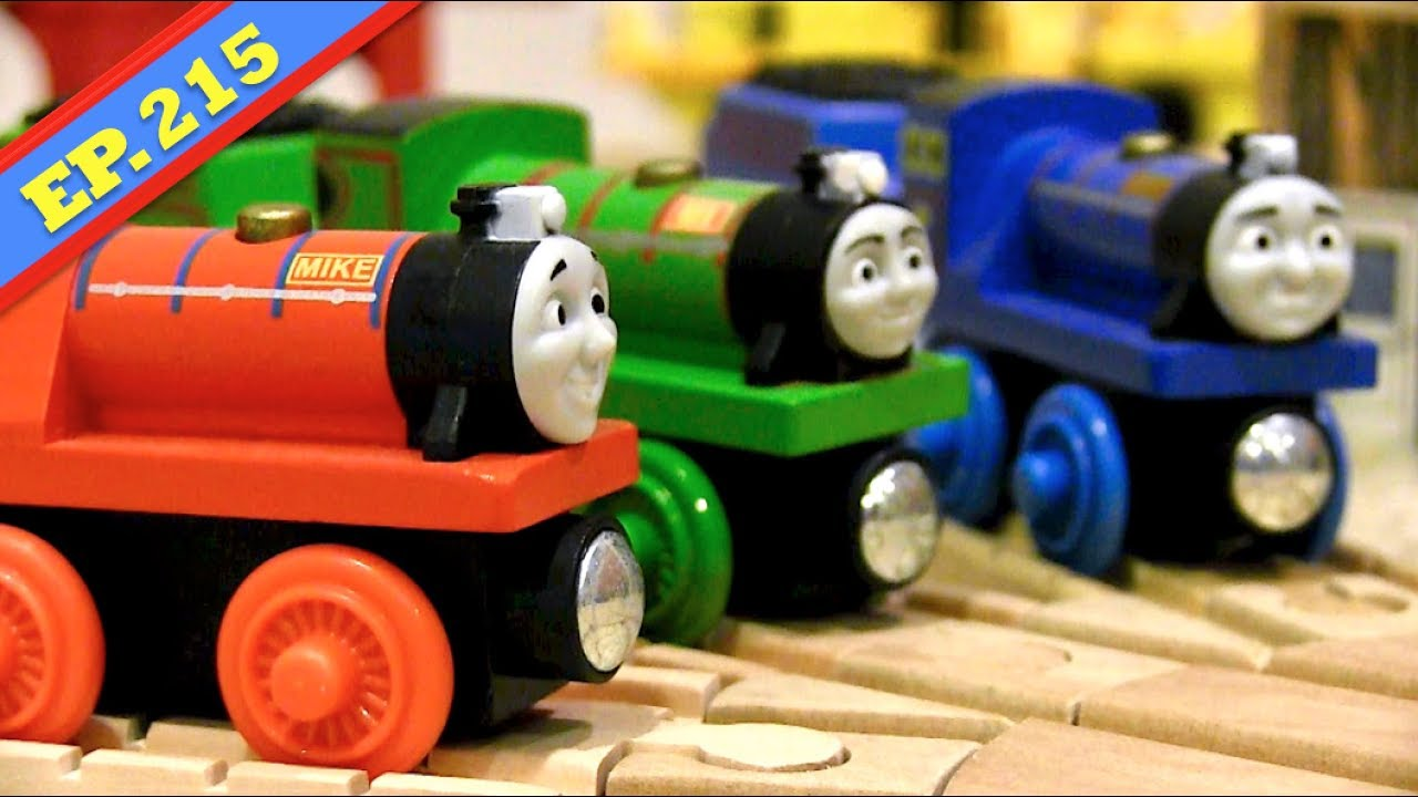 Tyrannical Rex Thomas Friends Wooden Railway Adventures Episode 215