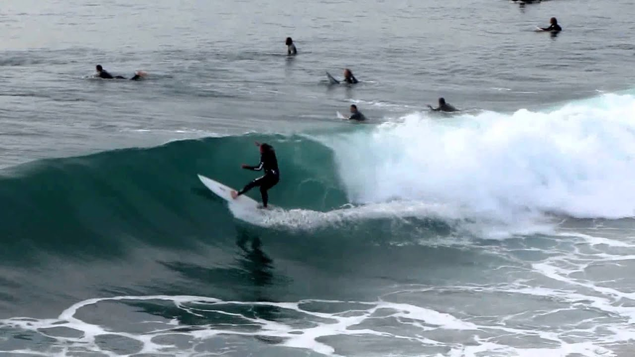 Surfing At Huntington Beach Pier You