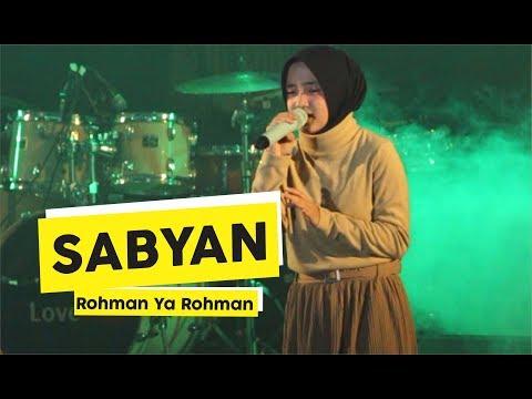 [HD] Sabyan - Rohman Ya Rohman (Live at Yogyakarta)