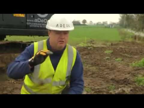20293 Archéologie NTD New gas pipeline opens old WWI fronts to Belgian archaeologists