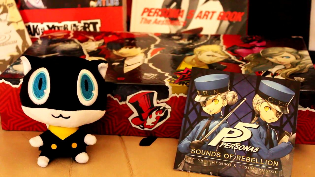 Persona 5 Take Your Heart Premium Edition Eur Unboxing Review