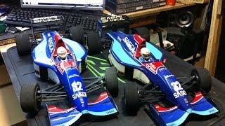 VINTAGE Jordan Yamaha F1 by Kyosho 192 . VS Mugen 4X4. GFKA RC CLUB