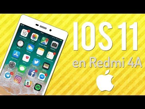IOS 11 🍎 En Xiaomi Redmi 4a ?   Instalación Y Review
