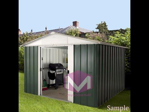 Prefabricated 🏚 metal and panel